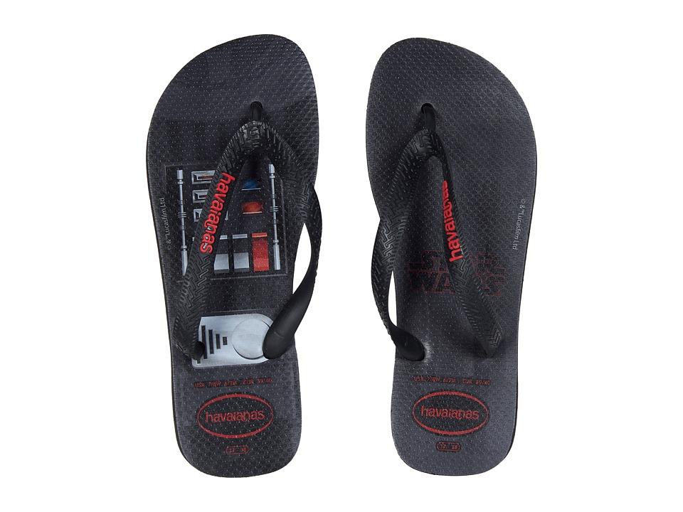 Havaianas - Star Wars Flip-Flops (Black) Womens Sandals