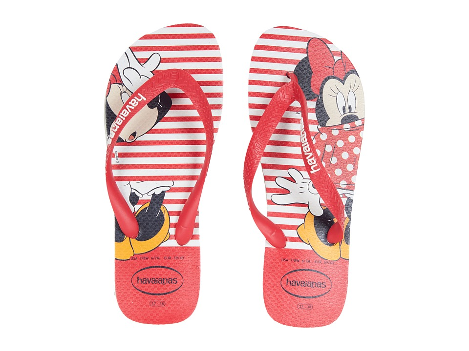 Havaianas - Disney Stylish Flip Flops (White) Womens Sandals
