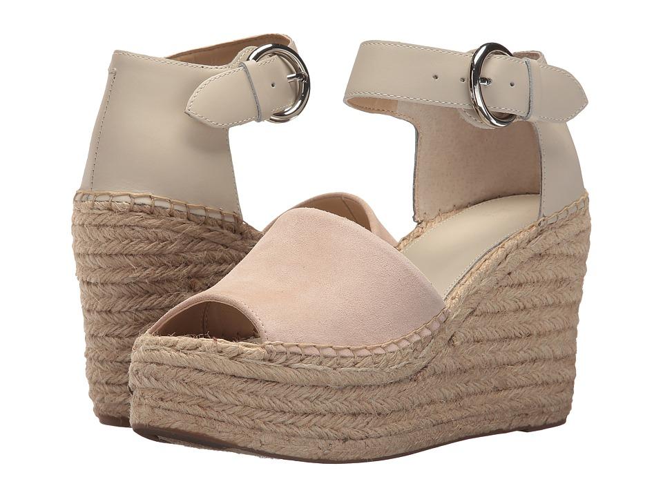 Marc Fisher LTD Alida Espadrille Wedge (Light Natural Suede) Women's Shoes