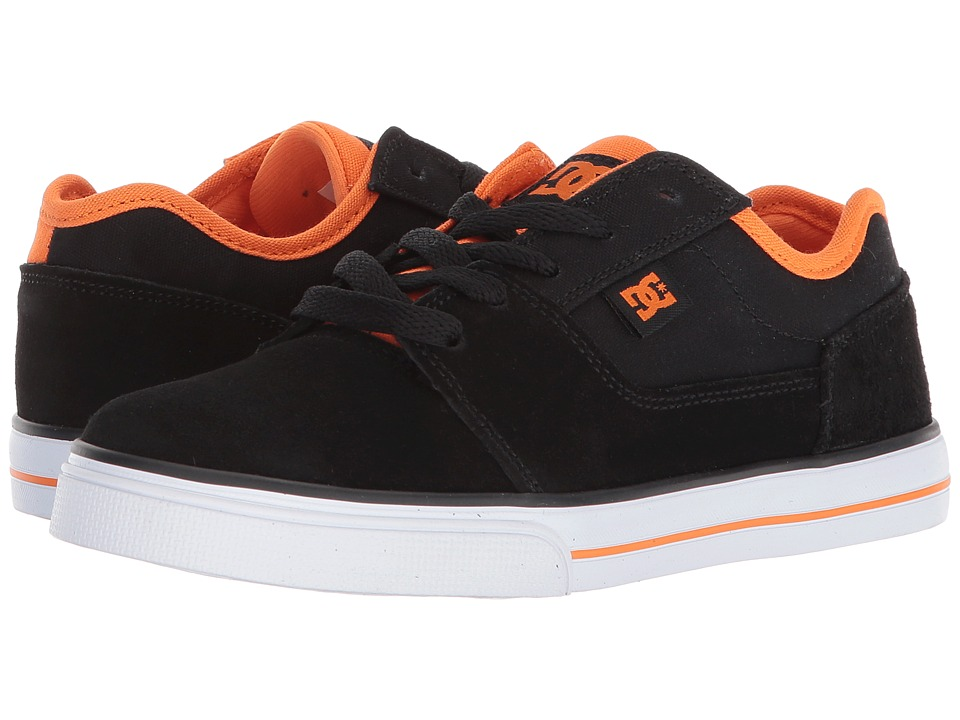 DC Kids - Tonik (Little Kid/Big Kid) (Black/Orange 2) Boys Shoes
