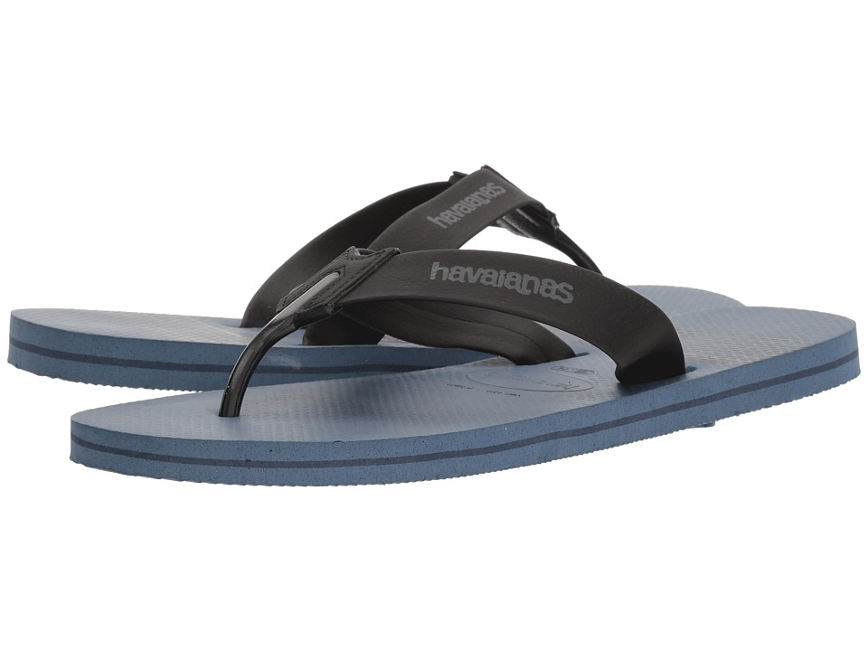 Havaianas - Urban Craft Flip Flops (Indigo Blue) Men's Sandals