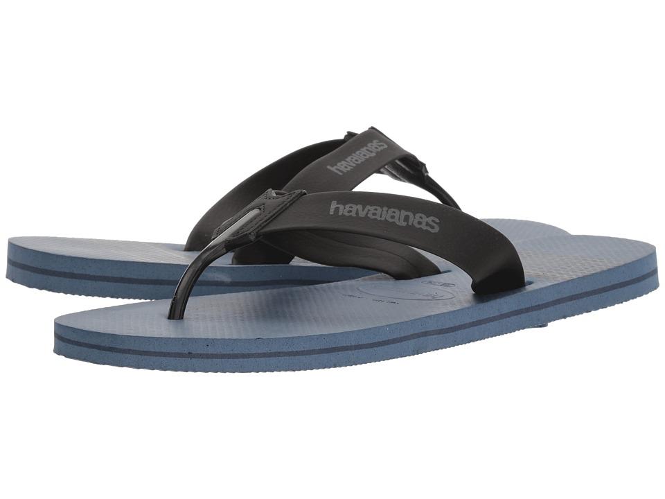 Havaianas - Urban Craft Flip Flops (Indigo Blue) Mens Sandals