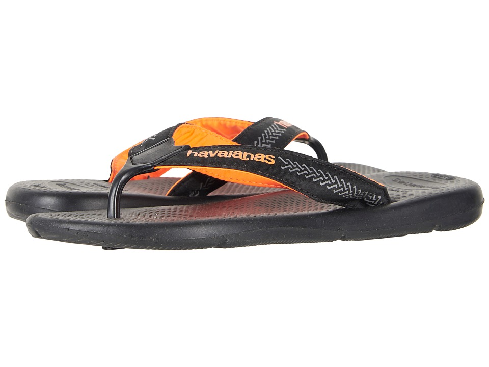 Havaianas - Surf Pro Flip Flops (Black/Black) Mens Sandals
