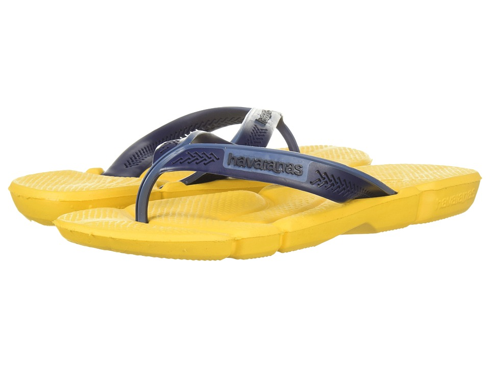 Havaianas - Power Flip Flops (Banana Yellow) Men's Sandals