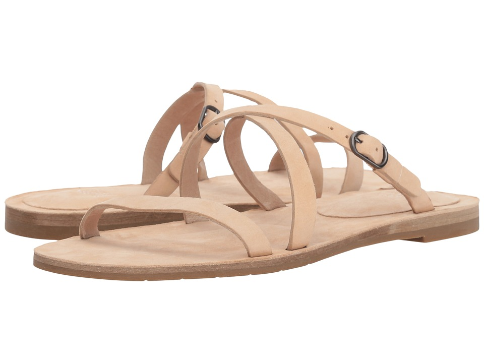 Eileen Fisher Dali (Cream Nubuck) Sandals
