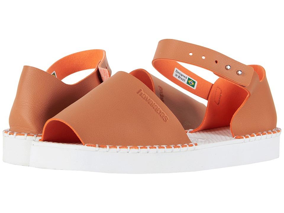 Havaianas - Flatform Fashion Espadrille (Camel) Womens Sandals