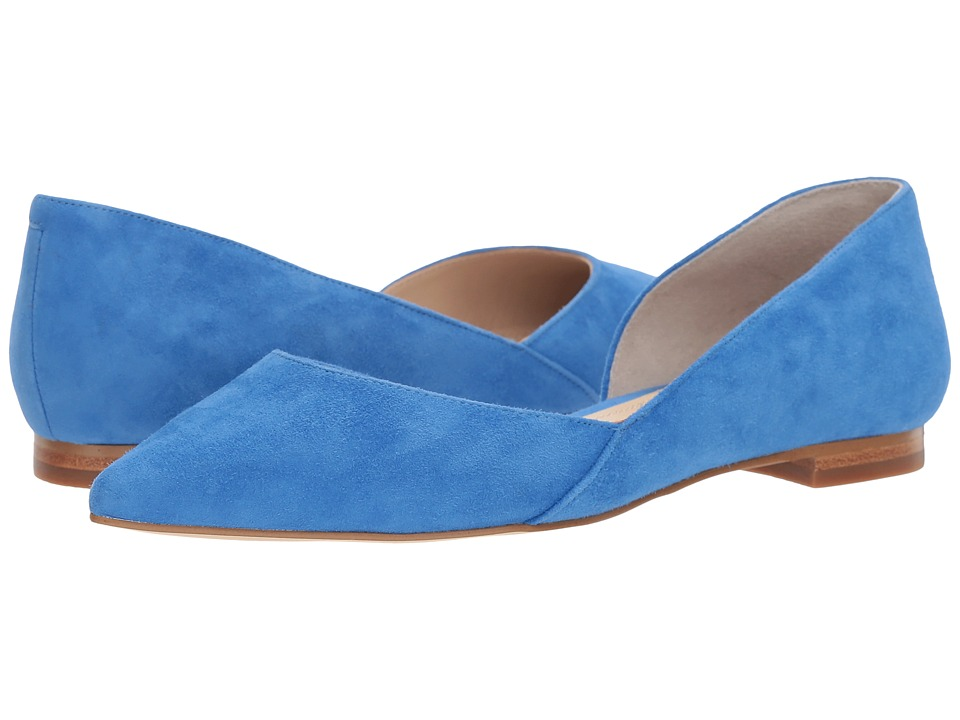 Marc Fisher LTD - Sunny 5 (Medium Blue Suede) Women's Sandals