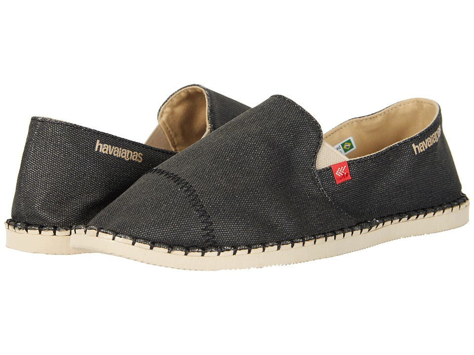 Havaianas - Origine Yacht Cal Espadrille (Black) Men's Sandals