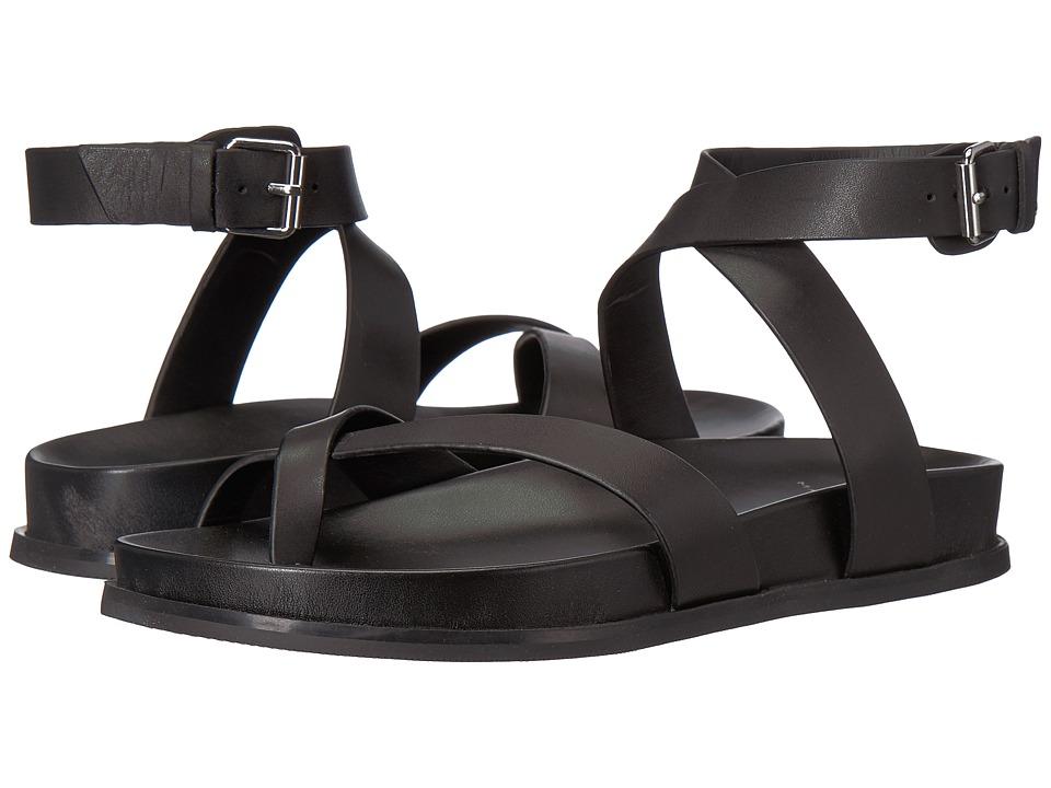 Marc Fisher LTD - Yarina (Black Multi Leather) Womens Sandals