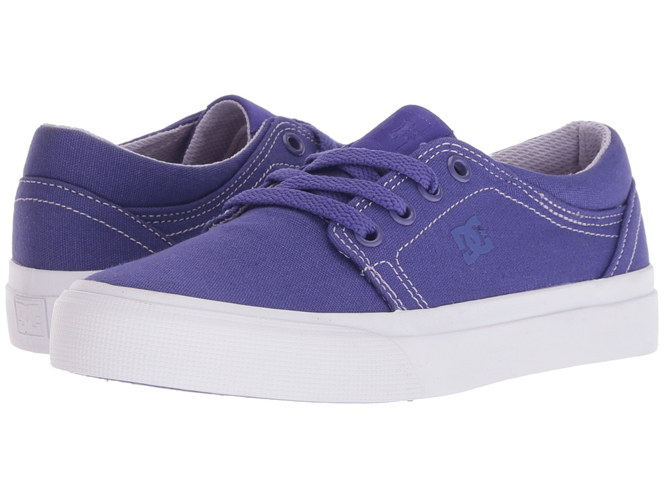 DC Kids - Trase TX (Little Kid/Big Kid) (Purple Rain) Girls Shoes