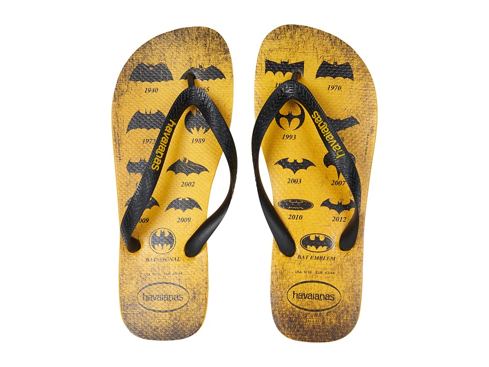Havaianas - Batman Flip-Flops (Banana Yellow) Men's Sandals