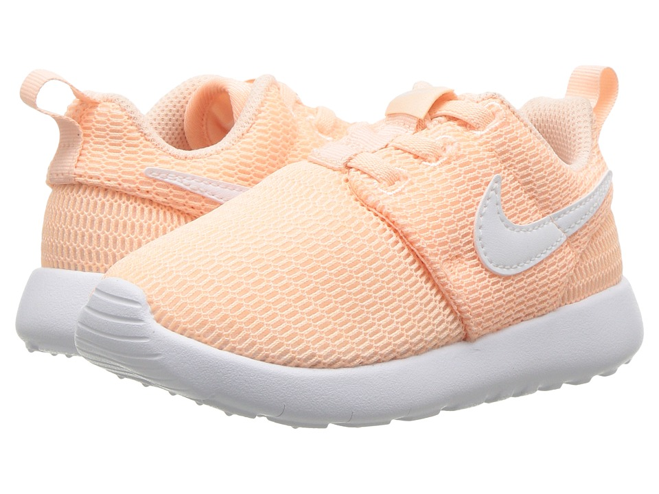 Nike Kids - Roshe One (Infant/Toddler) (Crimson Tint/White) Girls Shoes