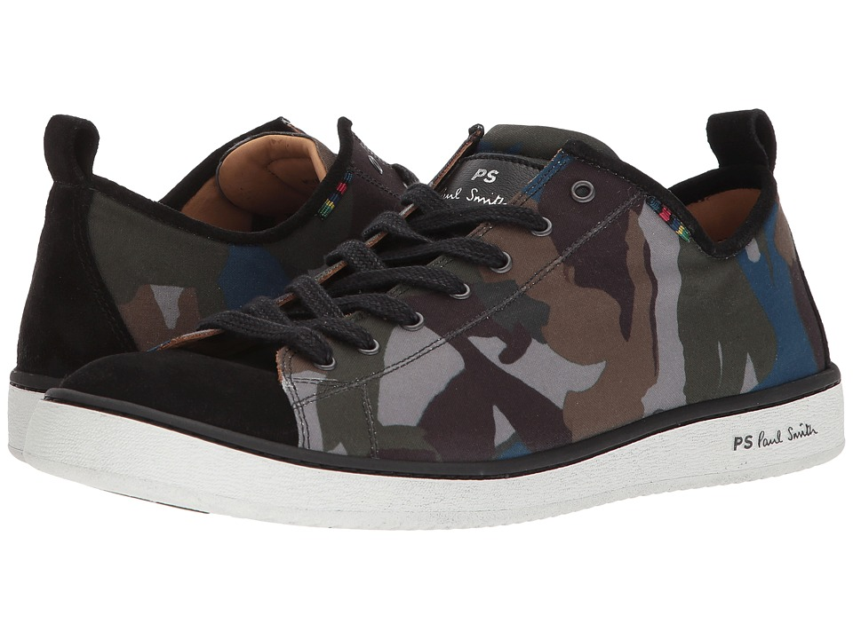Paul Smith - PS Miyata Sneaker (Camouflage) Mens Lace up casual Shoes