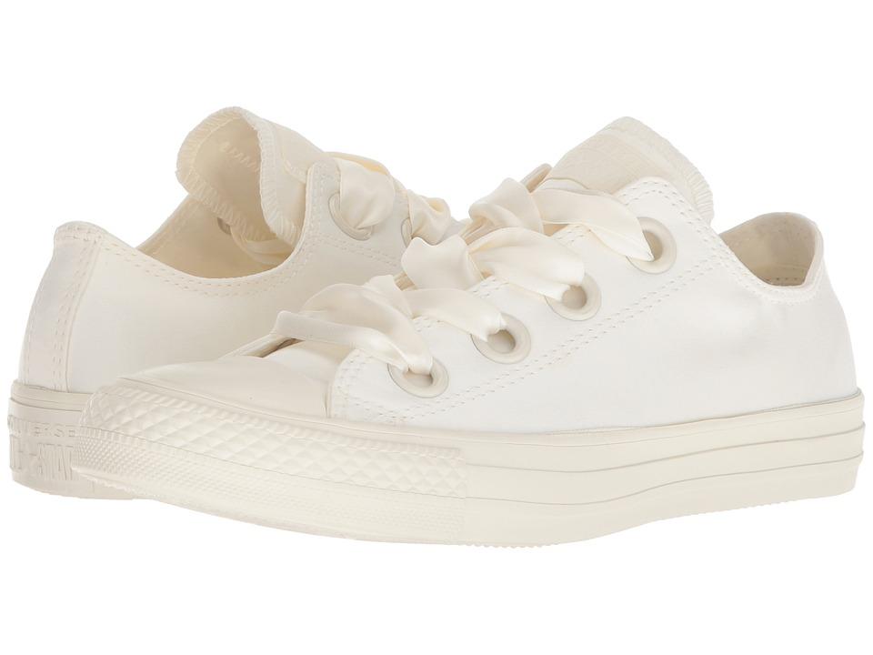 Converse Chuck Taylor All Star Big Eyelets Ox (Egret/Egret/Egret) Women's Classic Shoes