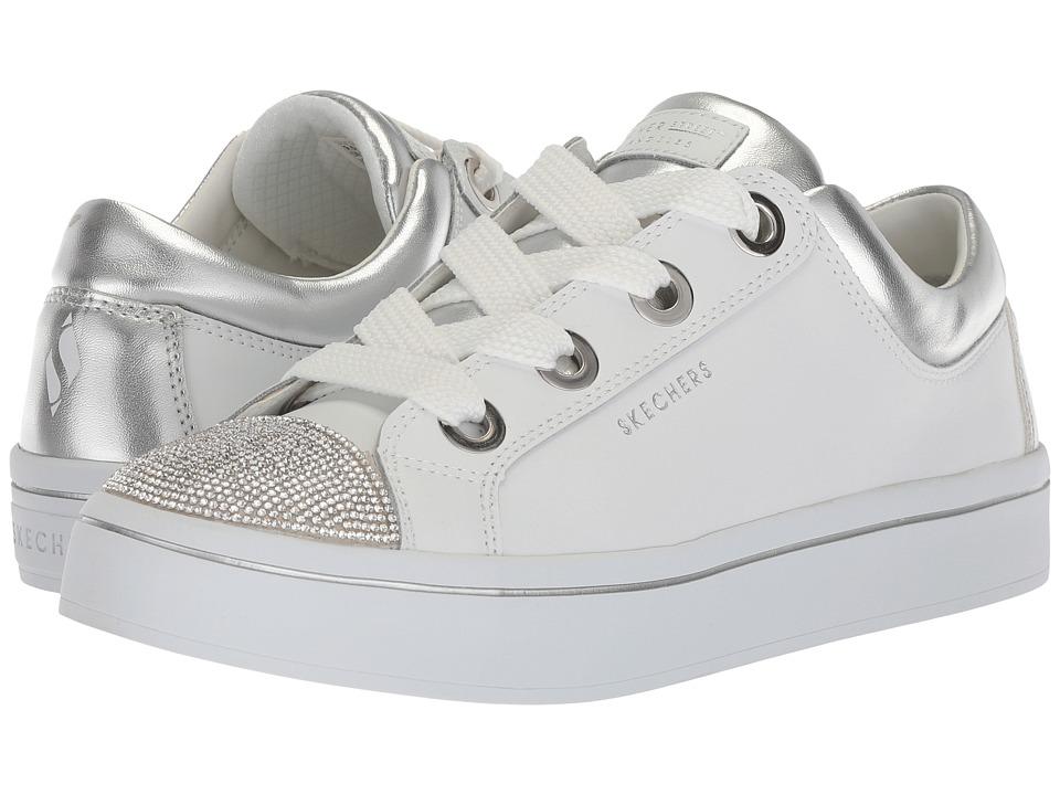 Skechers Hi-Lites - Space Dancer (White/Silver) Women's L...