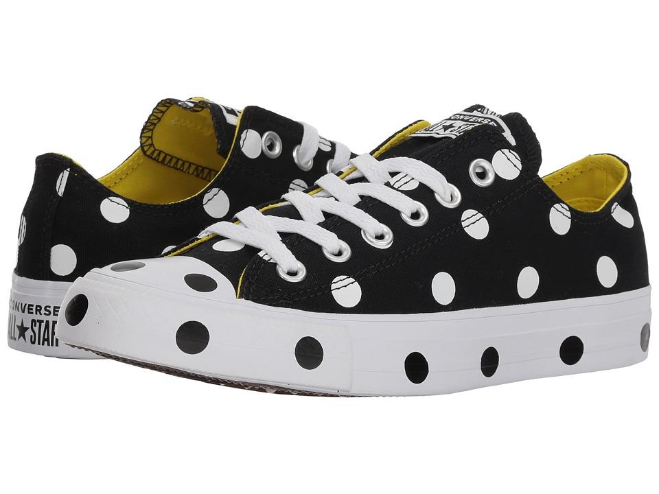 Converse Chuck Taylor(r) All Star(r) Ox - Dots (Black/Whi...