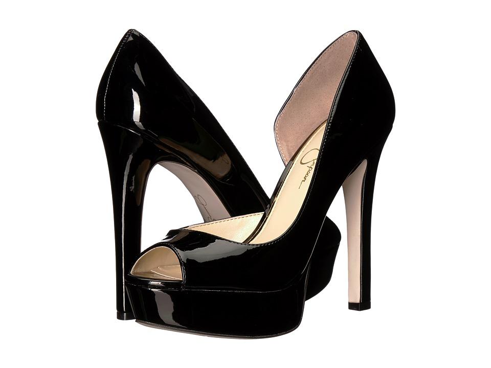 Jessica Simpson - Martella (Black Patent) High Heels