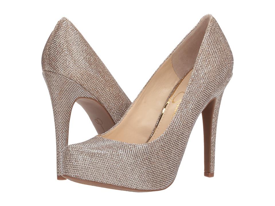 Jessica Simpson - Parisah (Gold Jessica Simpson Sparkle Mesh) High Heels
