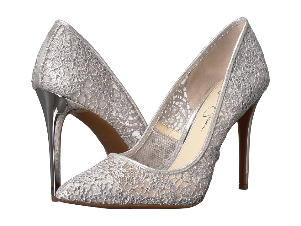 Jessica Simpson - Praylee 2 (Platinum Femme Crochet) High Heels