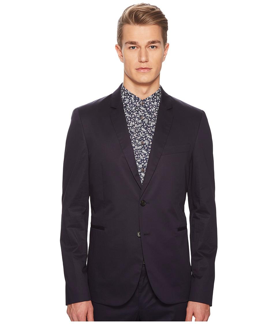Paul Smith - Cotton Stretch Blazer (Navy) Mens Jacket