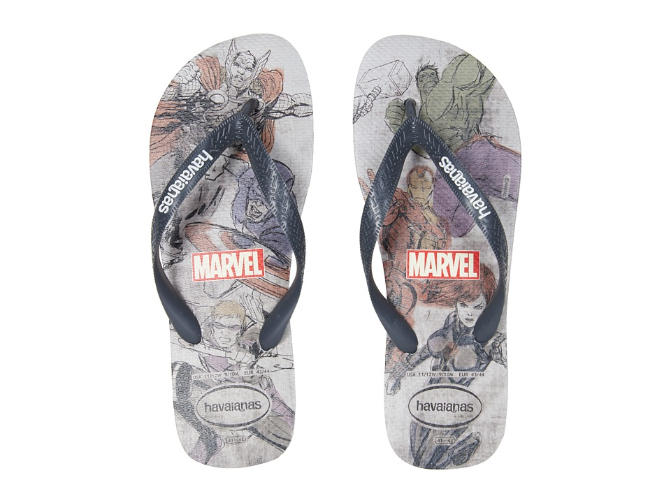 Havaianas - Top Marvel Sandal (Ice Grey) Men's Sandals