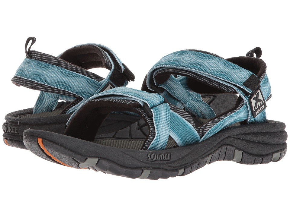 Naot Harbor - Source by Naot (Dream Blue) Women's Shoes