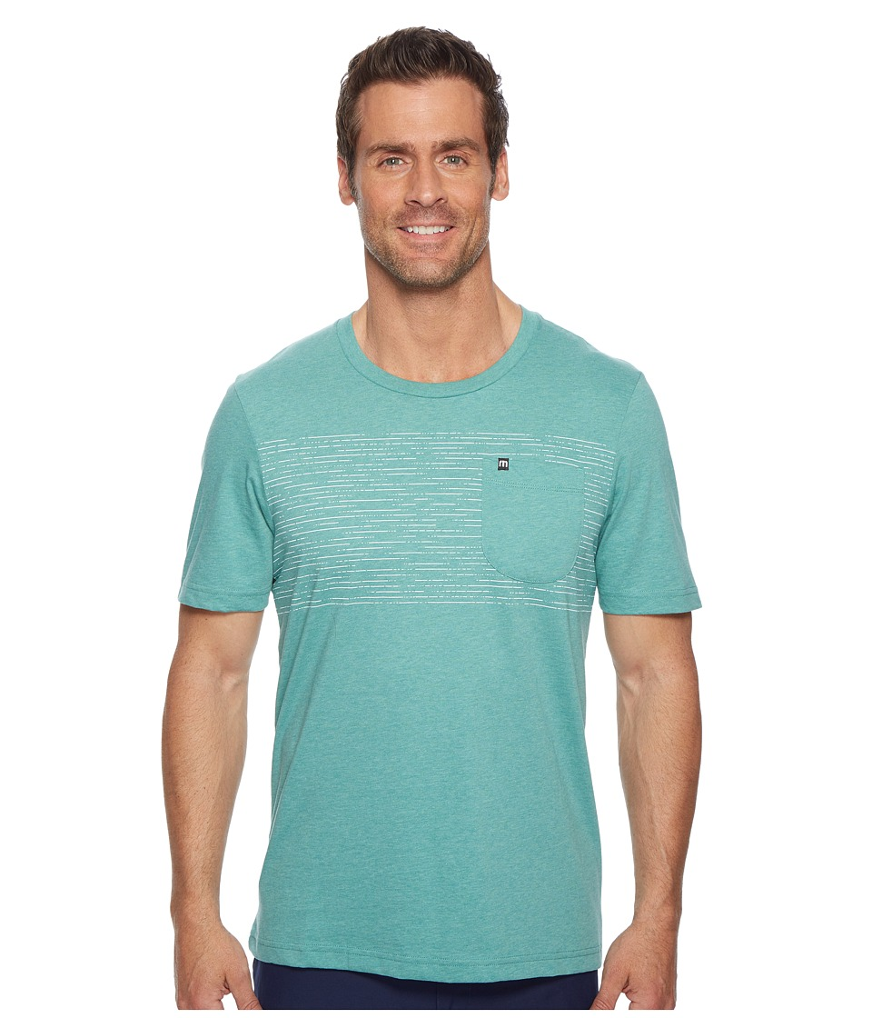 TravisMathew - Full Civilian (Heather Green) Men's Clothing