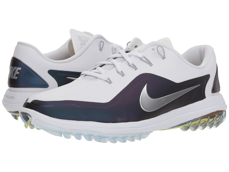 Nike Golf - Lunar Control Vapor 2 (White/Metallic Silver/...