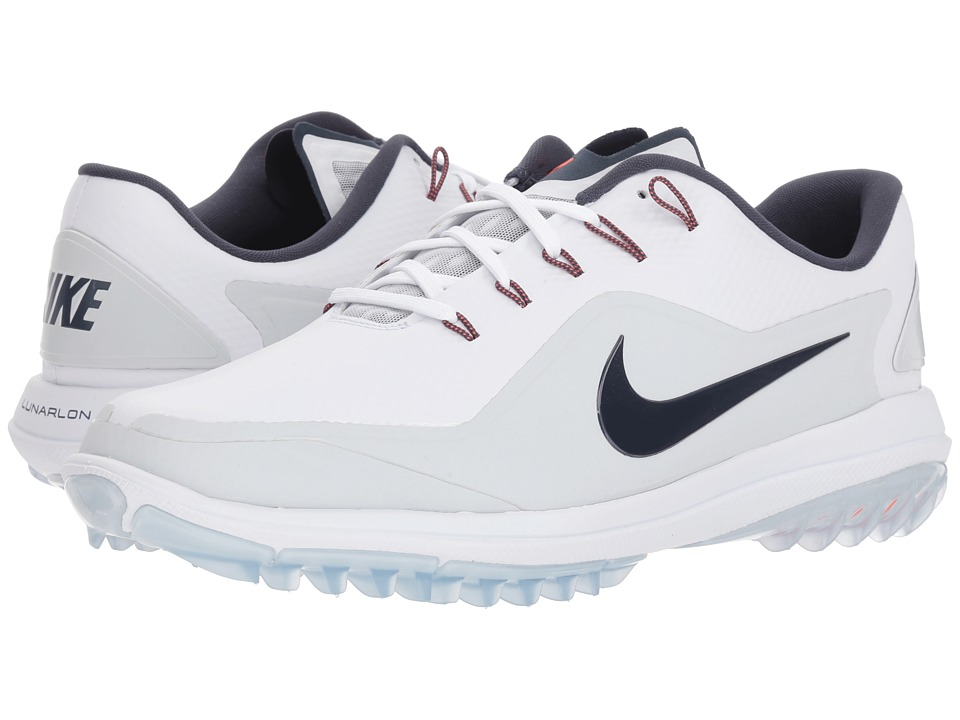 half off a78ab a109b ... Nike Golf - Lunar Control Vapor 2 (White Thunder Blue Pure Platinum) ...