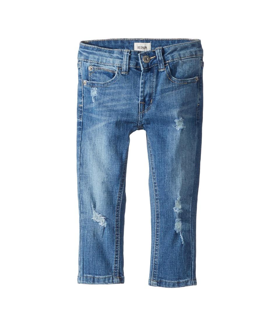 Hudson Kids Jude OG Skinny Five-Pocket Jeans in Stone Wash (Toddler/Little Kids/Big Kids) (Stone Wash) Boy