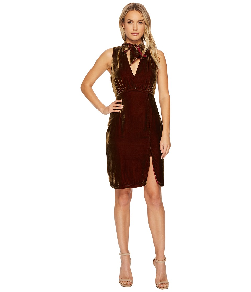 Adelyn Rae - Elle Dress (Chestnut) Womens Dress
