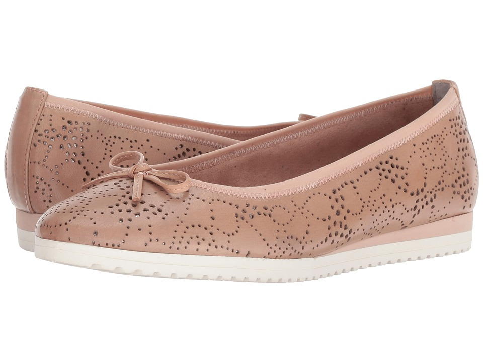 Tamaris - Alena 1-1-22124-20 (Light Rose) Womens Flat Shoes