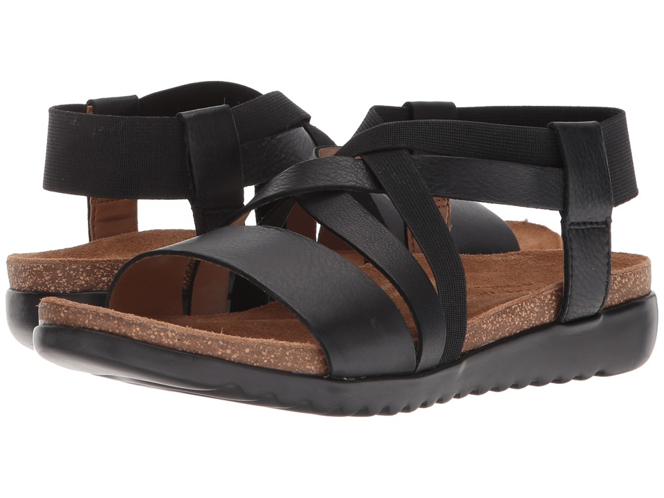 Comfortiva - Eva (Black Sleek) Womens Sandals