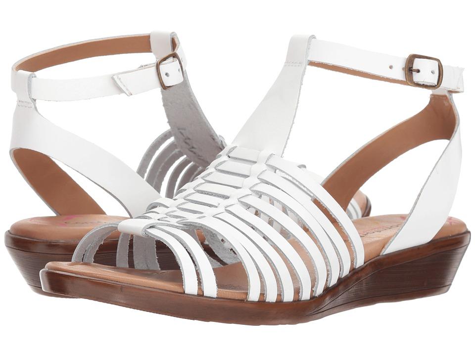 Comfortiva - Farina (White Atanado) Womens Sandals