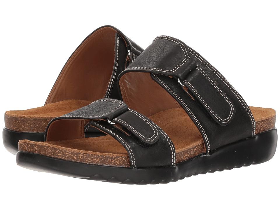 Comfortiva - Evita (Black Cow Oily Veg) Womens Sandals