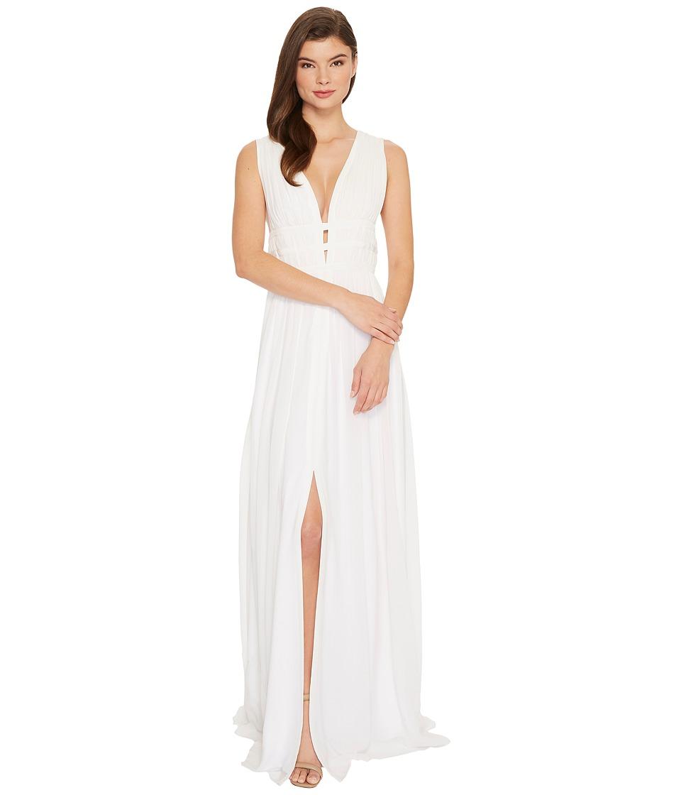 Nicole Miller - Gladiator Gown (White) Women's Dress