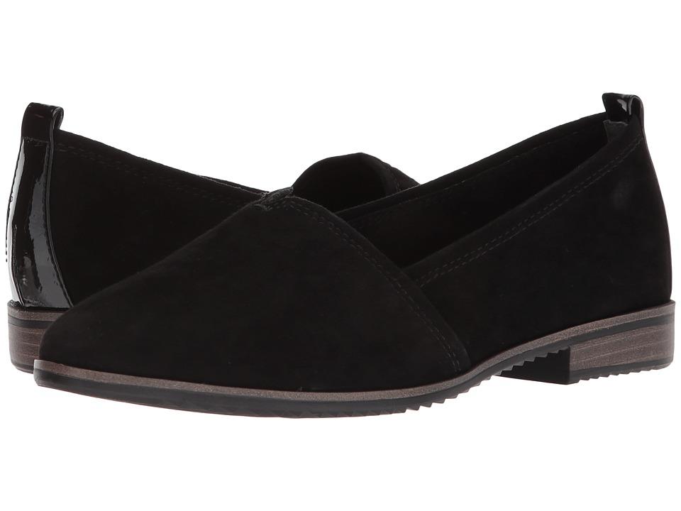 Tamaris - Pistil 1-1-24205-20 (Black Suede) Womens Slip on  Shoes