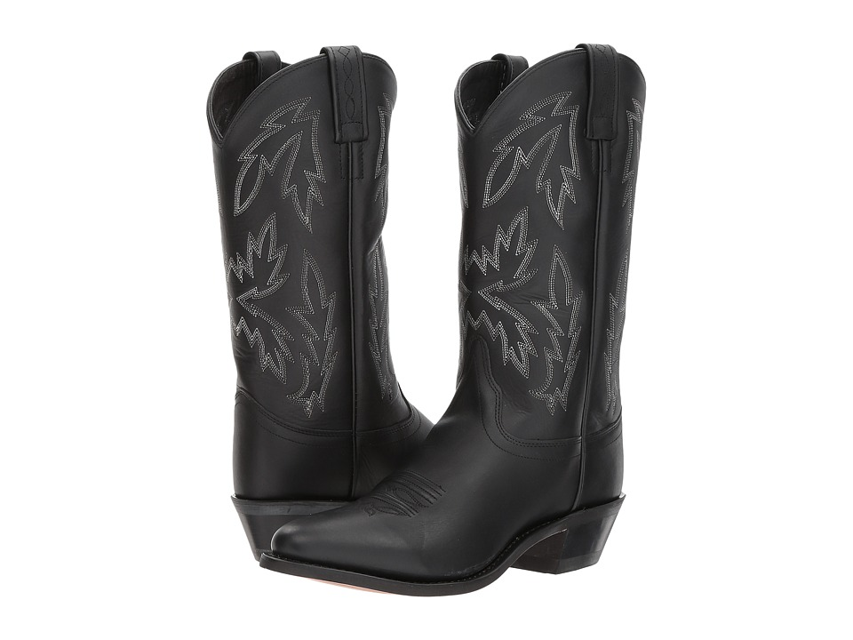 Old West Boots Mattie J Toe (Black) Cowboy Boots