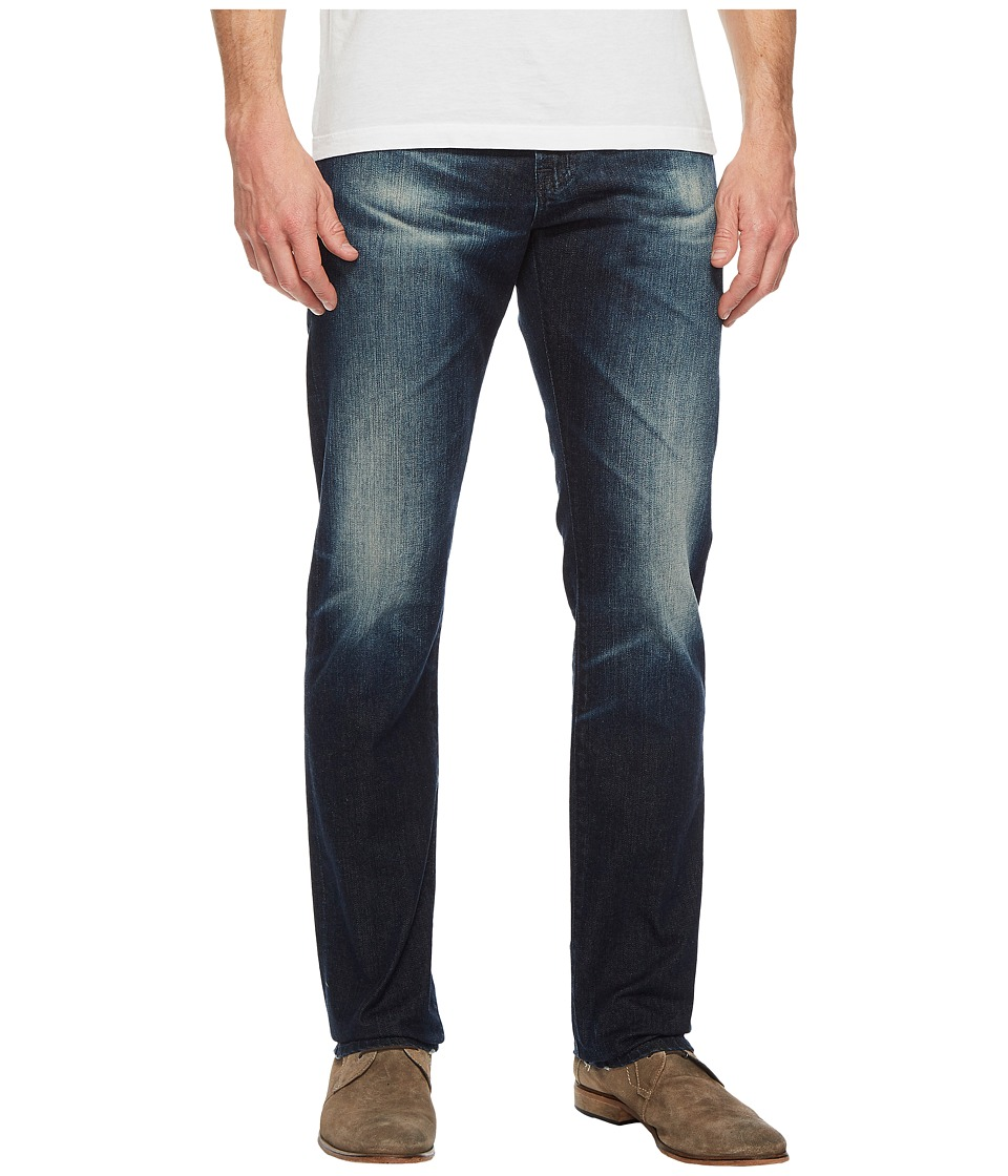 AG Adriano Goldschmied - Everett Slim Straight Leg Denim in 3 Years Trentwood (3 Years Trentwood) Mens Jeans