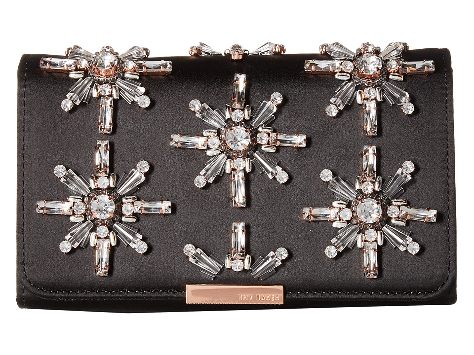 Ted Baker Embellished Evening Bag (Black) Clutch Handbags