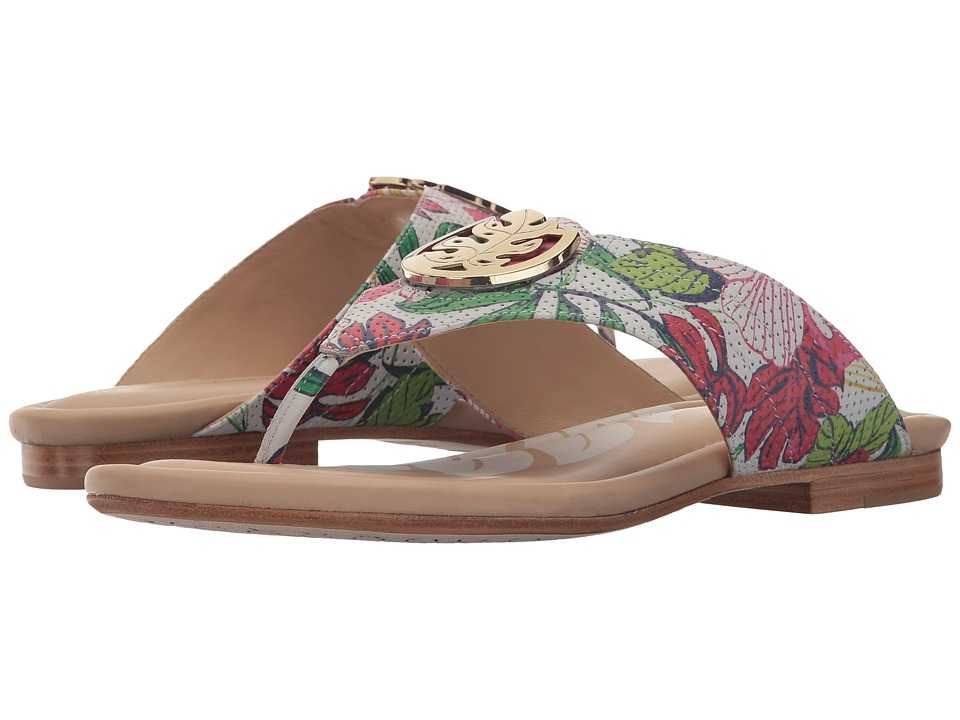 Tommy Bahama Floral Palms (Hibiscus White) Sandals