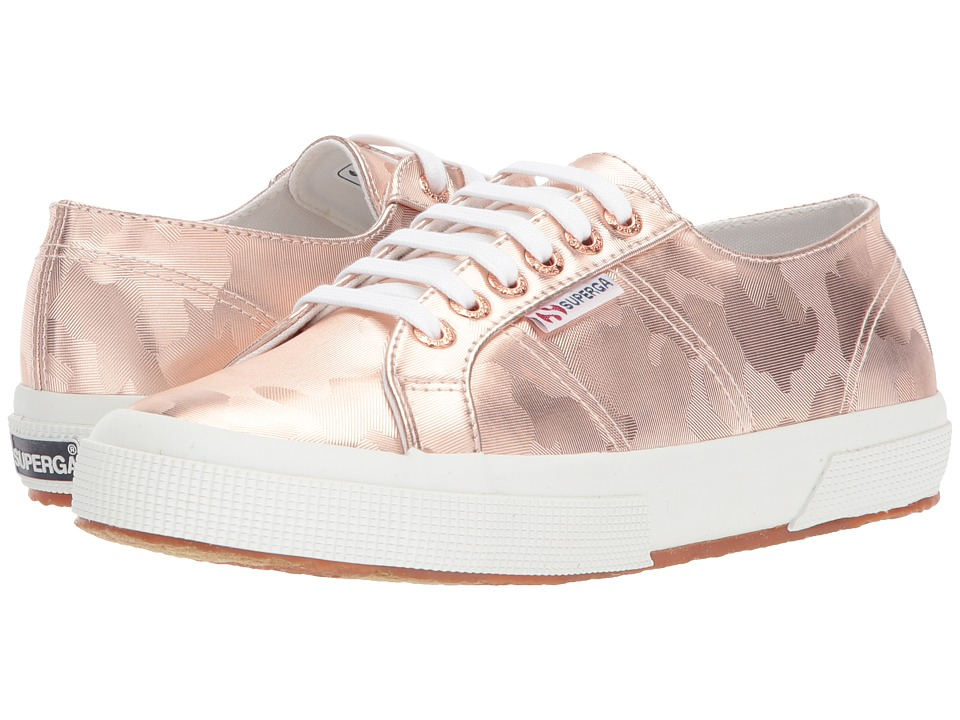 Superga - 2750 Army Chromw Sneaker (Rose Gold) Womens Shoes