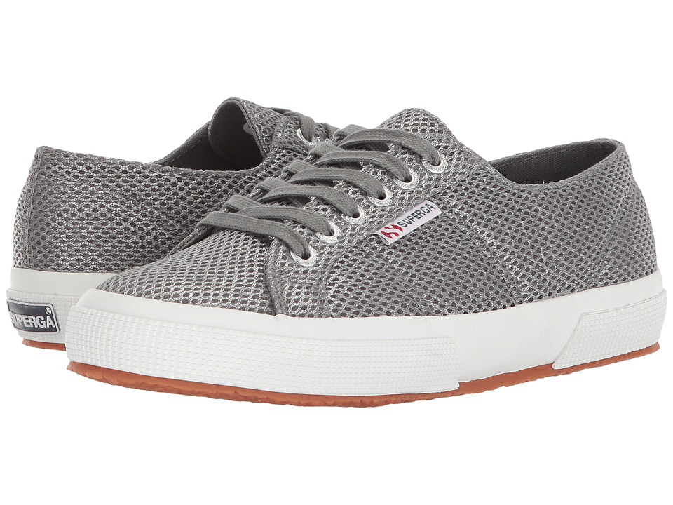 Superga - 2750 Metallicmeshw Sneaker (Grey) Womens Shoes