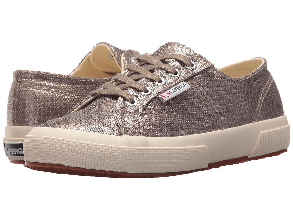 Superga - 2750 Microsequinw Sneaker (Bronze) Womens Shoes