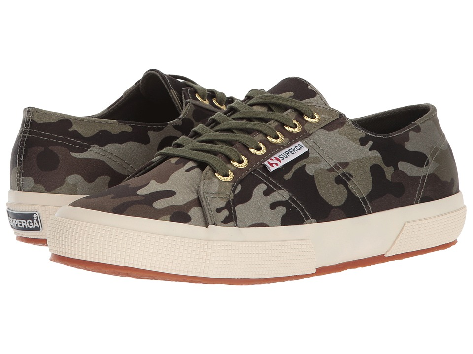 Superga - 2750 Rasocamow Sneaker (Camouflage) Womens Shoes