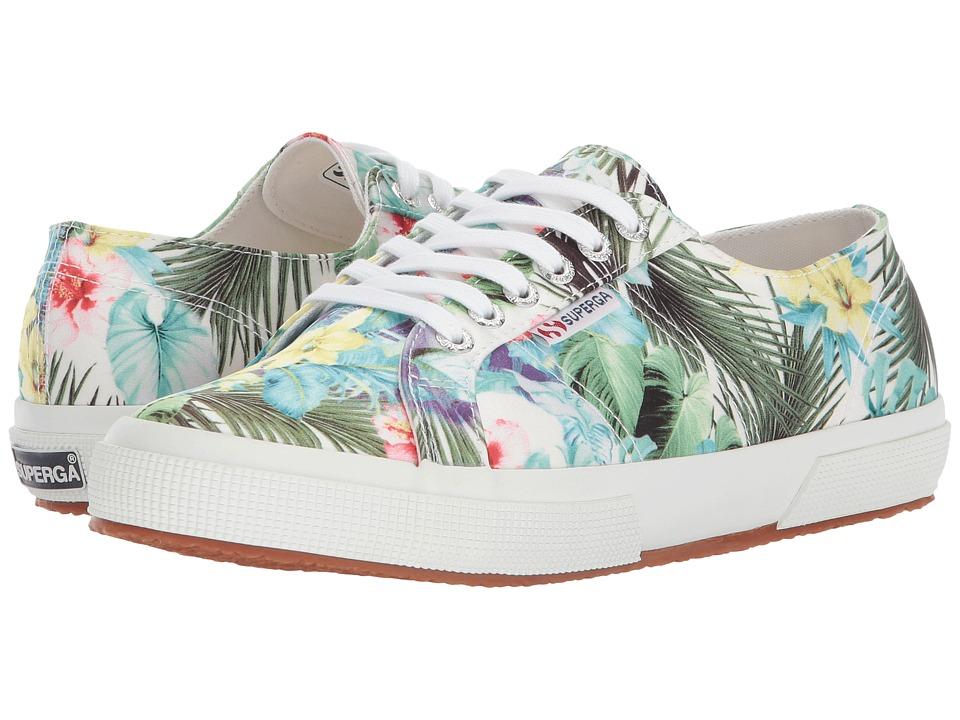 Superga - 2750 Rasotropicalw Sneaker (Floral Multi) Womens Shoes