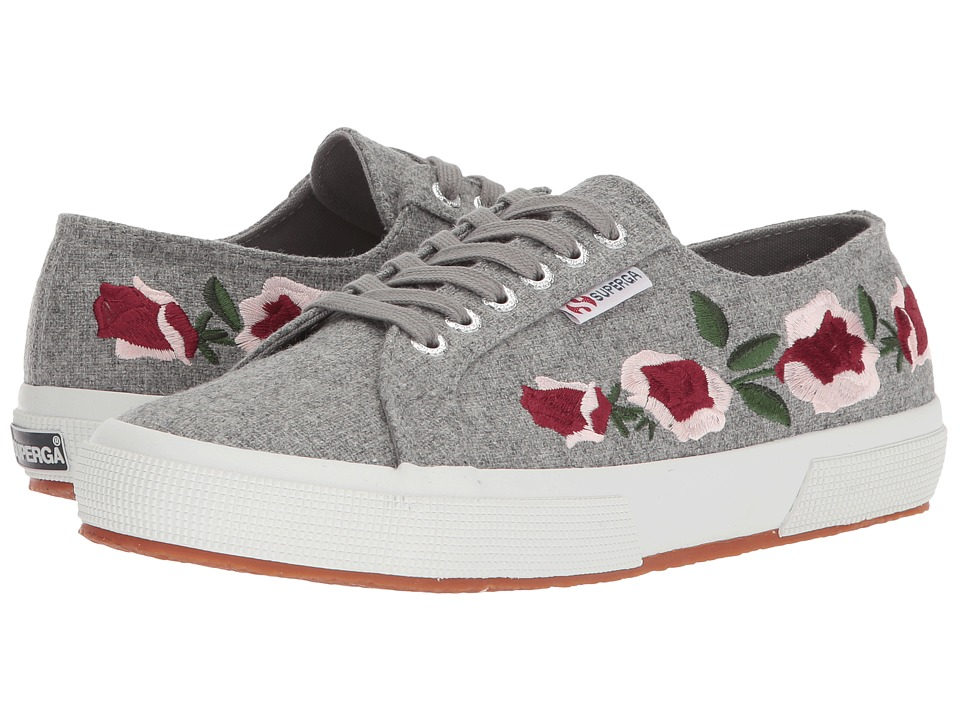 Superga - 2750 Embwoolw (Light Grey) Womens Shoes