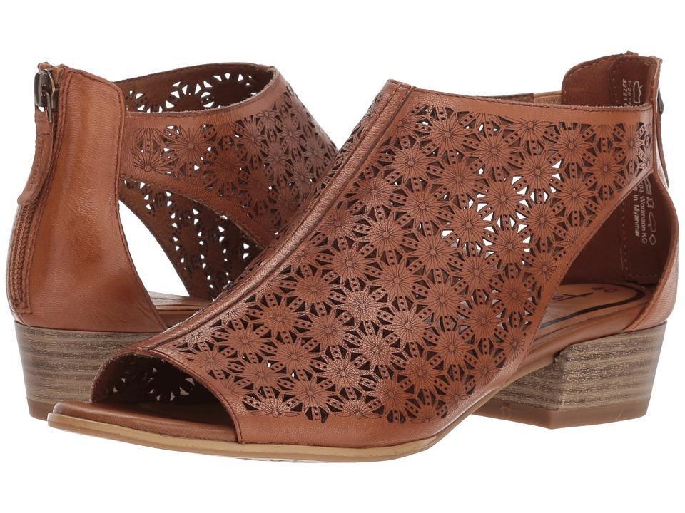 Tamaris - Nao 1-1-28140-20 (Cognac) Womens Dress Sandals