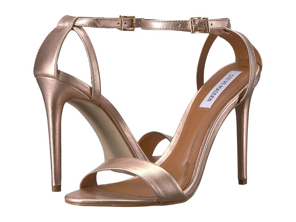 Steve Madden Lacey Dress Sandal (Rose Gold) Women