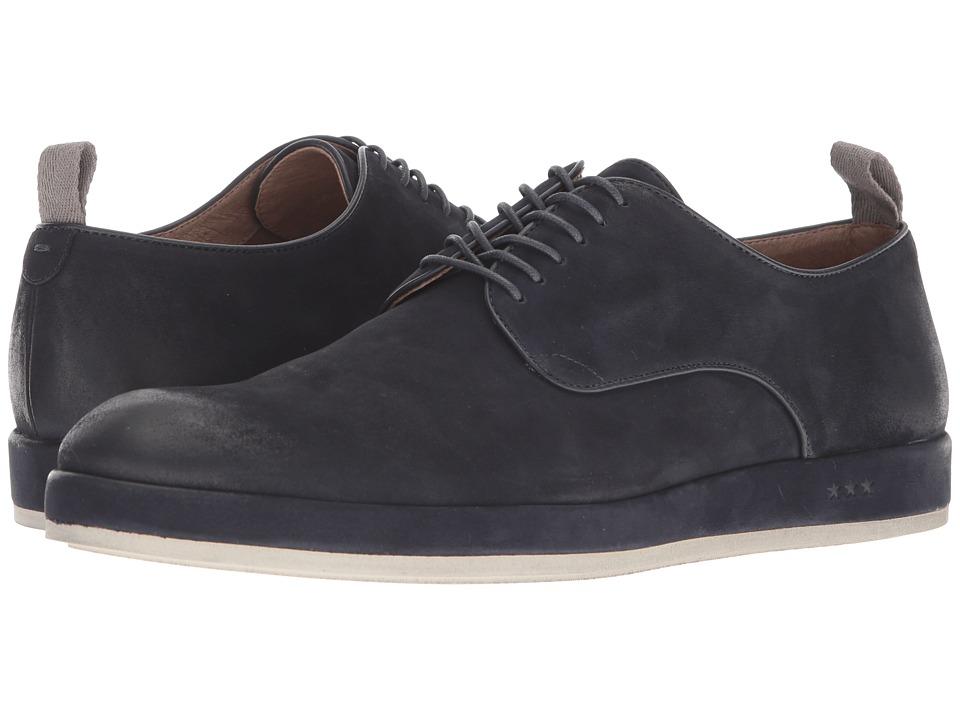 John Varvatos Sid Wrap Derby (Midnight) Men's Shoes